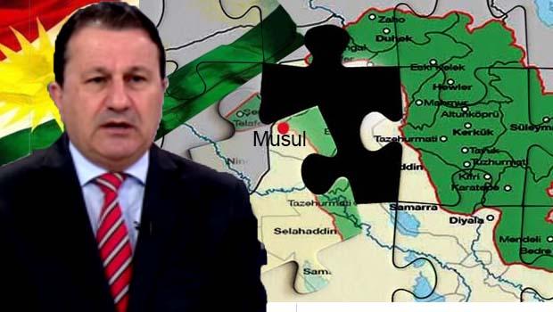 PDK'li yetkili: Musul'un büyük bölümü Kürdistan toprağı