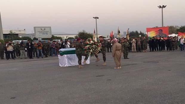 Başkan Barzani'den Şehit Sait Çürükkaya'ya Onur