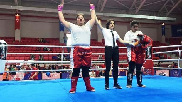 Diyarbakırlı Kick Boksçu Avrupa İkincisi Oldu