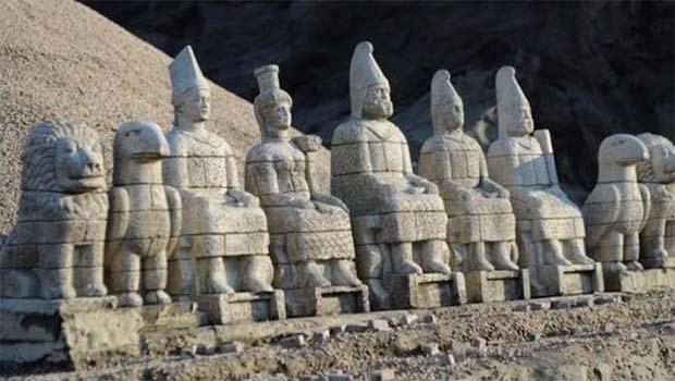 IŞİD Nemrud antik kentine büyük zarar verdi