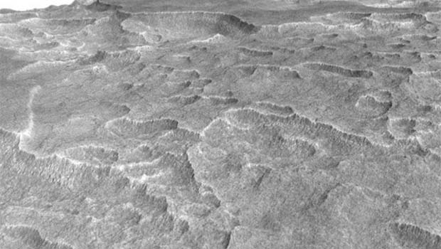 Mars'ta tarihi keşif! Neredeyse Van Gölü büyüklüğünde