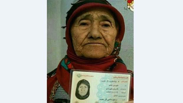 İran'ın 'en yaşlı kadını' Horasanlı bir Kürt