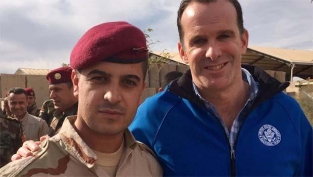 Obama'nın Özel Temsilcisi McGurk'tan Peşmerge'ye şükran ziyareti