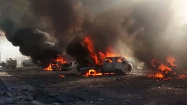 Irak'ta pazar yeri 'yanlışlıkla' vuruldu: En az 50 ölü