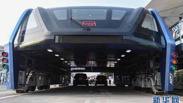 Çin'in çılgın otobüsü depoda çürüyor!