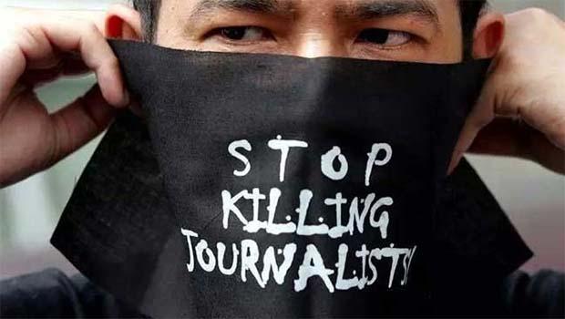 Bir yılda 74 gazeteci öldürüldü