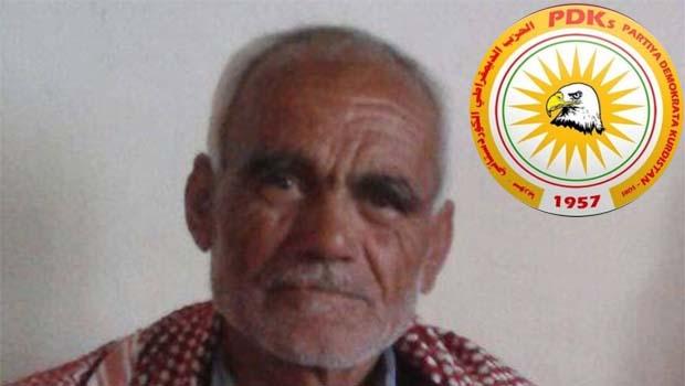 Rojava'da 'zorunlu askerlik' 65 yaşındaki PDK-S üyesinin canına mal oldu