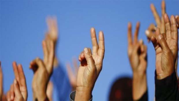Zafer işareti yapıp fotoğraf çekmek PKK Propagandası!