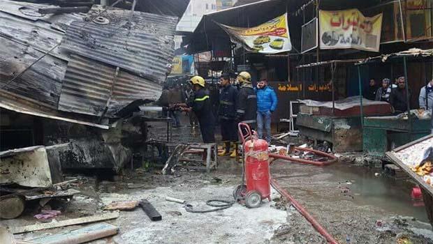 Bağdat'ta çifte patlama: En az 18 ölü, 43 yaralı