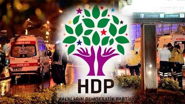 HDP'den Ortaköy saldırısı açıklaması