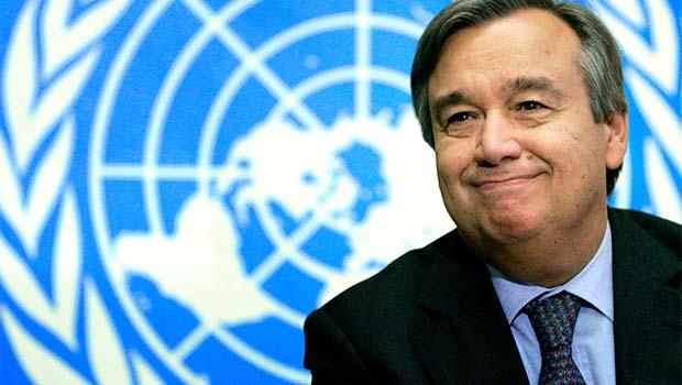 BM Genel Sekreteri'nden ilk mesaj