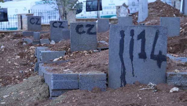 58 cenaze 5 aydır 'KİMSESİZ'