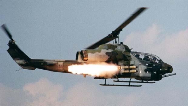 Rojava'da YPG'ye helikopter saldırısı