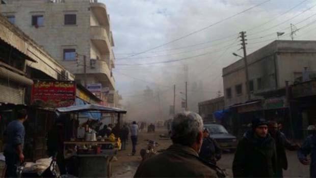 Azez'de bombalı araçla saldırı: 60 ölü