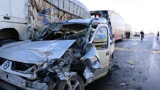 Urfa'da zincirleme kaza: 23 yaralı