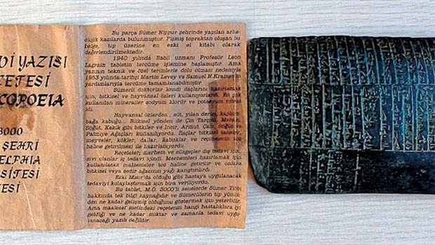 Diyarbakır'da 5 bin yıllık tıp reçetesi ele geçirildi
