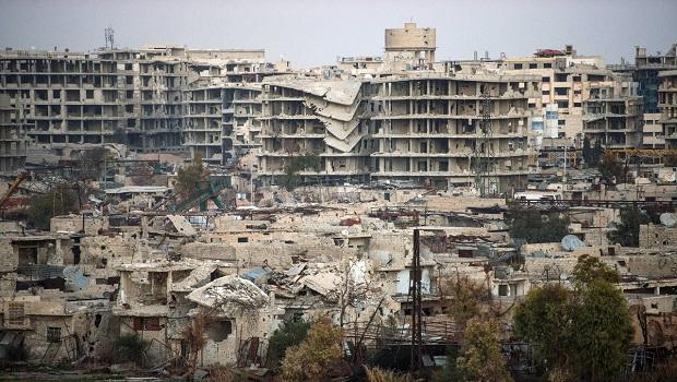 Şam'da şiddetli patlama: Çok sayıda ölü var!