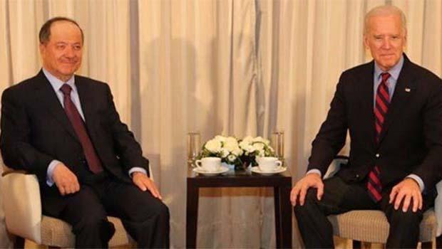 Barzani ve Biden Davos'ta bir araya geldi