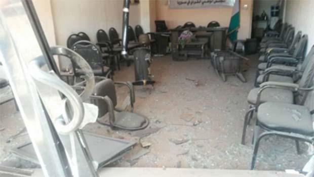 ENKS bürolarına bombalı saldırı