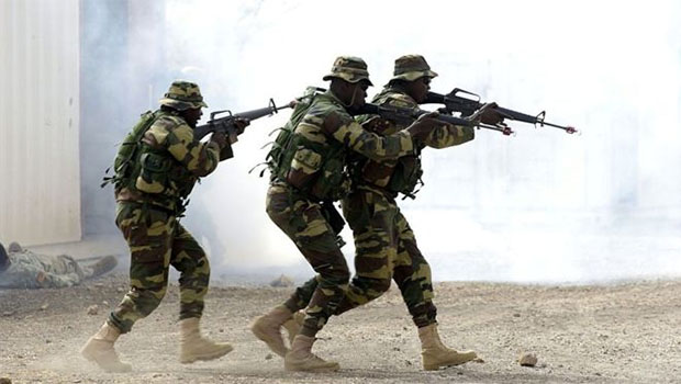 Senegal ordusu: Gambiya'ya girdik