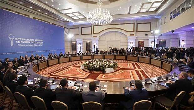 Astana'da Suriyeli Muhaliflerin PYD takıntısı