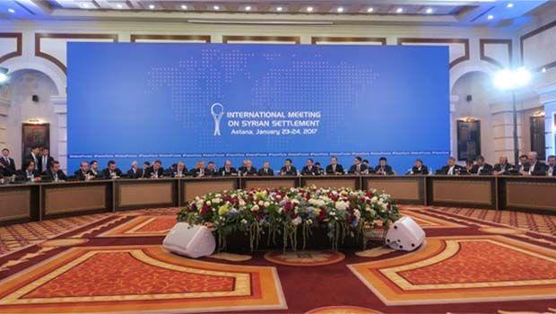 İran, Rusya ve Türkiye'den 'Astana bildirisi'