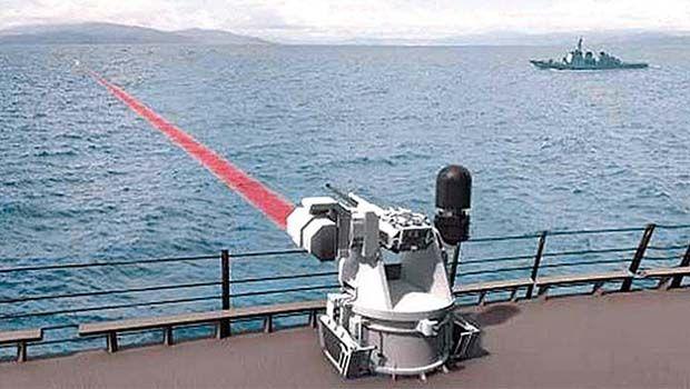 Şimdiye kadarki en güçlü lazer silahı geliştirdiler: Önce kör, sonra yok edecek