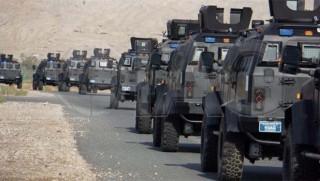 QSD'ye zırhlı araç