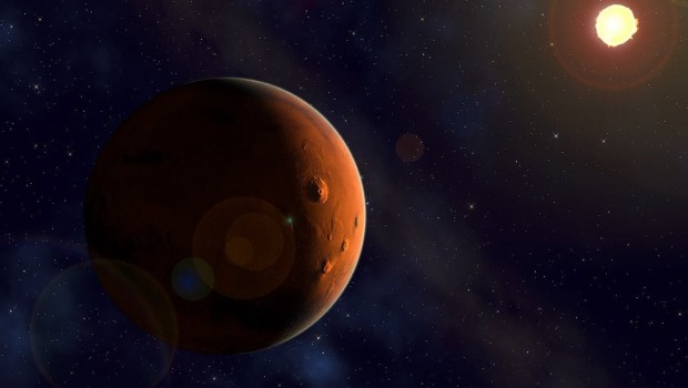 Mars'ta 2 milyar yıl önce volkanik faaliyet belirtisi