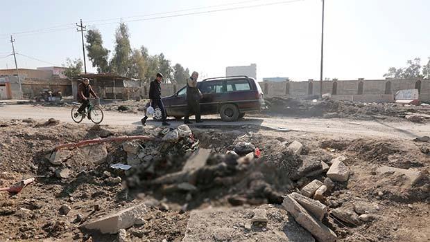 IŞİD üyelerinin cesetleri de ölüm saçıyor