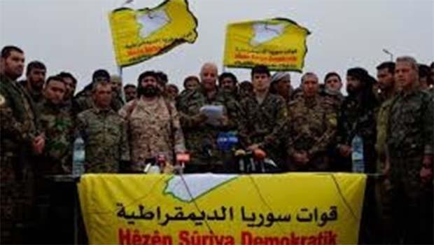 Demokratik Suriye Güçleri'nden Türkiye'ye zeytin dalı