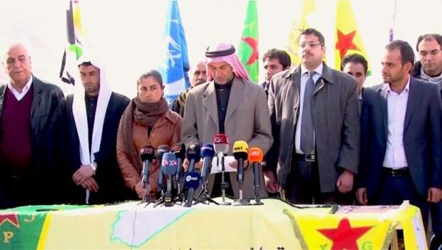 Rakka'daki Arap Aşiretlerden Suriye Demokratik Güçleri'ne Destek