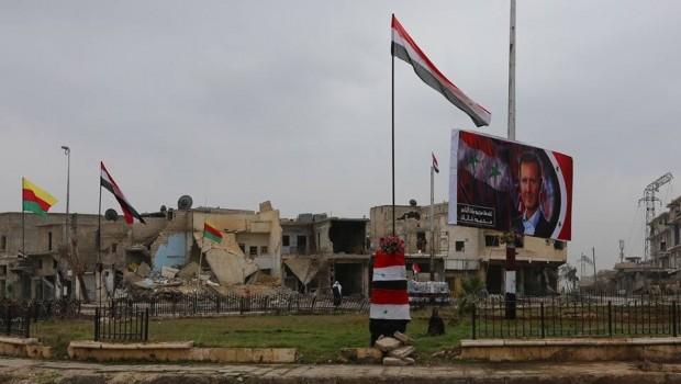 Halep'te 2 Kürt kasabasının yönetimi Suriye Hükümetine devredildi