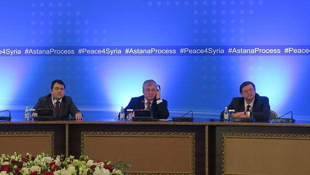 Rusya, Türkiye ve İran'dan Astana'da ortak karar