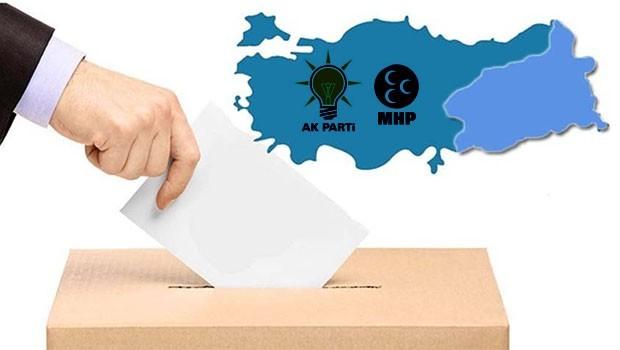 ANAR anketinde AKP ve MHP'nin referandum riski!