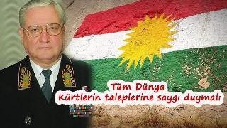 KGB'nin eski komutanı: Bağımsızlık Kurdistan'ın hakkıdır!