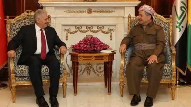 Başkan Barzani bugün Türkiye Başbakanı ile bir araya gelecek