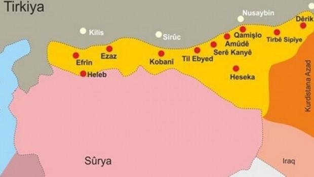 Rus uzman: Kürt kantonlarına sadece Ankara değil, Şam da karşı