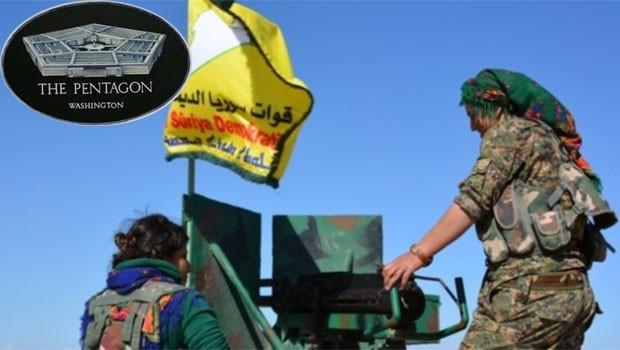 Pentagon: Suriye Demokratik Güçleri'ne desteğimiz devam ediyor