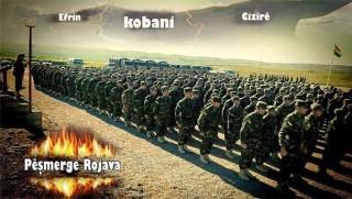 Rojava Peşmergeleri sınıra konuşlandı