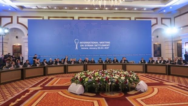 Astana'daki zirveden ilk karar