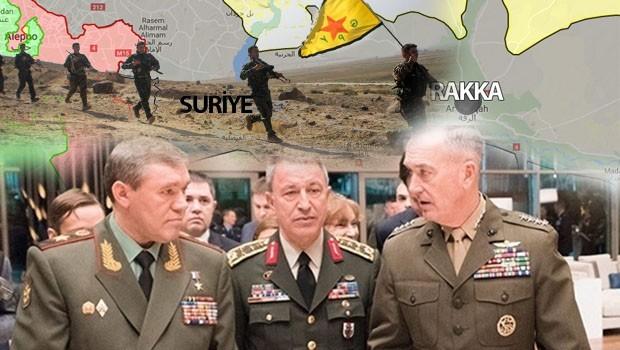 Antalya da ikna edemedi: Rakka, Türkiye'siz kurtarılıyor!