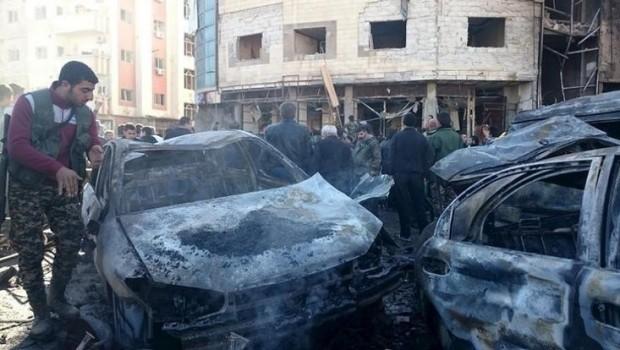 Suriyeli isyancılar Şam'a saldırdı