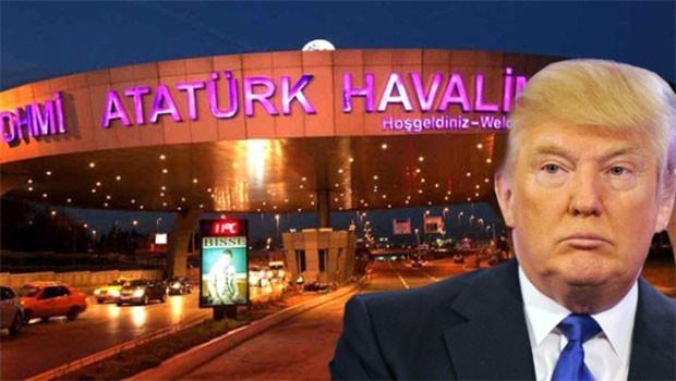 Trump'tan İstanbul yasağı!