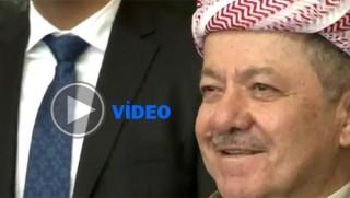 ABD Büyükelçisi'nin kıyafeti, Başkan Barzani'yi şaşkınlığa uğrattı