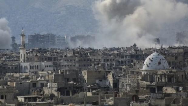 Şam'a hava saldırısı: Çok sayıda ölü var!