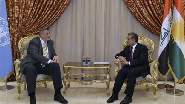 Felah Mustefa'dan, BM'ye 'Kürdistan bayrağı' eleştiri