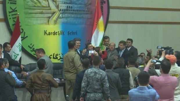 Ankara'dan, Kerkük'e 'Kürdistan Bayrağı' asılmasıyla ilgili açıklama