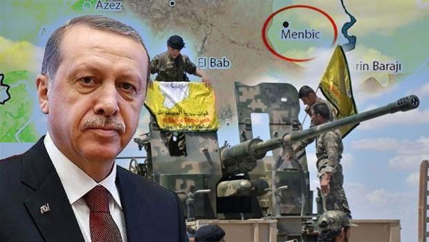 Erdoğan'dan Menbic açıklaması