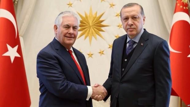 Erdoğan-Tillerson görüşmesinin detayları